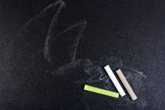 Chalk board. For a background Stock Photo