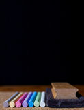 Chalk board color Royalty Free Stock Photography