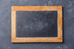 Chalk board copy space Stock Image