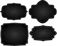 Chalk Board Frames Stock Image