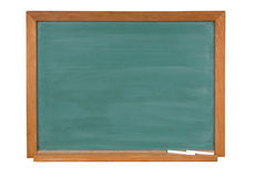 Chalk board green Royalty Free Stock Photography