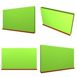 Chalk Board or Green Board for Schools Royalty Free Stock Photography