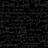 Chalk board mathematics pattern Royalty Free Stock Image