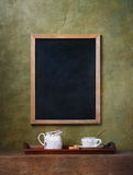 Chalk board menu Royalty Free Stock Photos