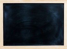Chalk board o texture, Blackboard, Chalk board with chalk traces Royalty Free Stock Images