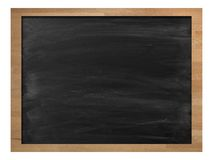 Chalk Board. A school chalk board with chalk stains Stock Photography