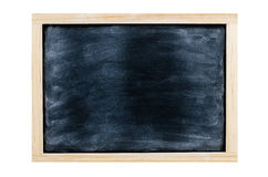 Chalk board on white blackground, Blackboard, Chalk board. Stock Photo