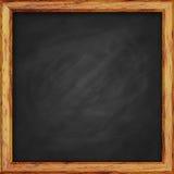 Chalk Board. Chalk Board in wooden frame stock photo