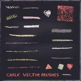 Chalk brushes Royalty Free Stock Image