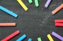 Chalk Circle royalty free stock photography