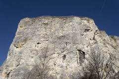 Chalk cliff Stock Photography