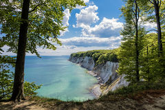 Chalk cliff Stock Images