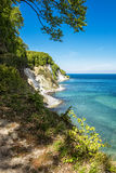 Chalk cliff Royalty Free Stock Photography