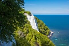 Chalk cliff on the island Ruegen Royalty Free Stock Image