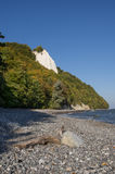 Chalk cliff Royalty Free Stock Photos