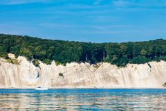 Free Chalk Cliff Rocks Of Rugen Isle At Sassnitz Germany Royalty Free Stock Photography - 111245137