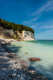 Chalk cliffs Stock Images