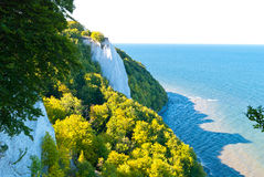 Chalk Cliffs Stock Photo