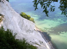 Chalk cliffs of Møn Royalty Free Stock Image