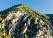 Chalk cliffs of Mt Princeton Colorado Royalty Free Stock Image