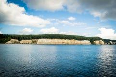 Chalk Cliffs on Rügen Island, Germany, Europe Stock Images