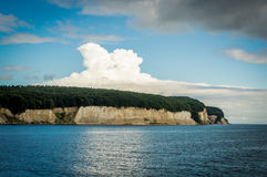 Chalk Cliffs on Rügen Island, Germany, Europe Royalty Free Stock Images
