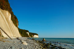 Chalk cliffs (Ruegen, Germany) Royalty Free Stock Photo