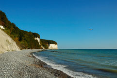 Chalk cliffs (Ruegen, Germany) Royalty Free Stock Image