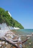 Chalk Cliffs,Ruegen Island,Germany Royalty Free Stock Image