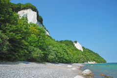 Chalk Cliffs,Ruegen Island,Germany Stock Photography