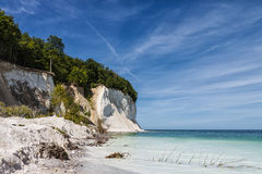 Chalk cliffs Royalty Free Stock Images