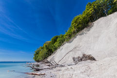 Chalk cliffs Royalty Free Stock Photography