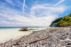 Chalk cliffs Stock Image