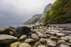 Chalk cliffs Royalty Free Stock Image