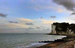 Chalk cliffs, UK ,Europe Royalty Free Stock Image