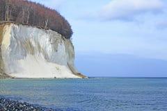 Chalk coast Baltic Sea Stock Photography