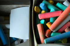 Chalk color Royalty Free Stock Photo