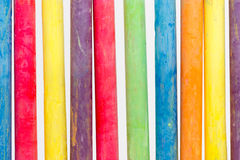 Chalk color Stock Photography
