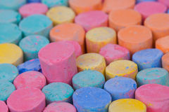 Chalk Color Royalty Free Stock Photography