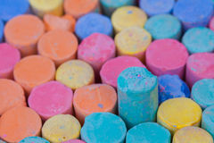 Chalk Color Stock Image