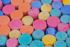 Chalk Color Royalty Free Stock Photos