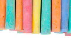 Chalk Color Stock Photo