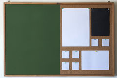 Chalk-Cork board Royalty Free Stock Photography