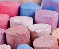 Chalk crayons Stock Photos