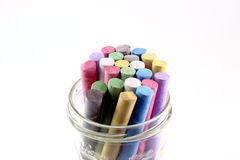 Chalk crayons Royalty Free Stock Photography