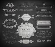 Chalk design Stock Photo