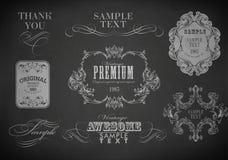 Chalk design Stock Image