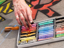 Chalk Drawings Royalty Free Stock Image