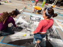 Chalk Drawings Stock Images