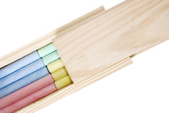 Chalk and eraser board case Royalty Free Stock Photos